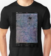 USGS TOPO Map Iowa IA Crystal Lake 20100526 TM Inverted Unisex T-Shirt