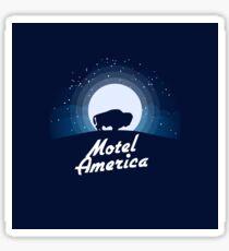 American Gods - Motel America Sticker
