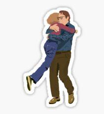Alison and Bruce Sticker