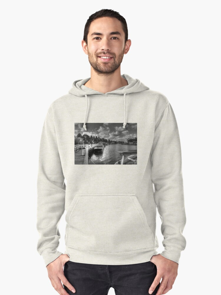 0464 Port Fairy Harbour  Pullover Hoodie Front