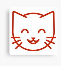 relax kitty Canvas Print