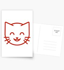 relax kitty Postcards