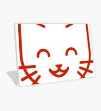 relax kitty Laptop Skin