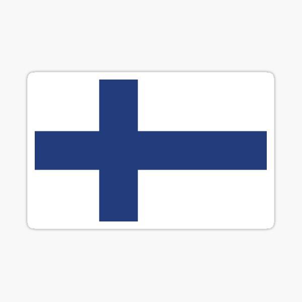 Finnish Flag Sticker