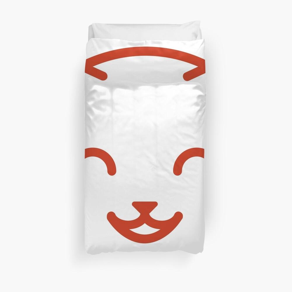 relax kitty Duvet Cover