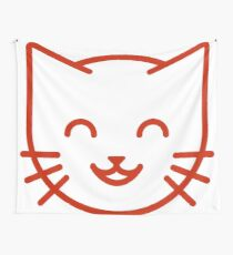 relax kitty Wall Tapestry
