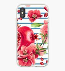 Fresh striped design iPhone Case