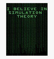 Simulation Theory Photographic Print