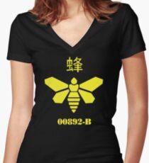 METHYLAMINE!! Women's Fitted V-Neck T-Shirt