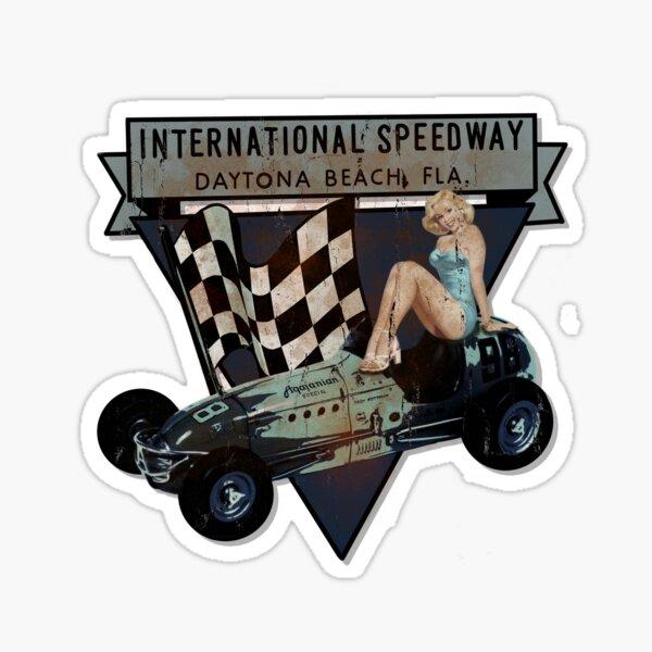Daytona international motor speedway by MotorManiac  Sticker