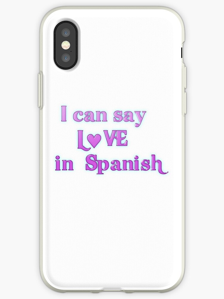 How to say cell phones in spanish