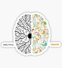 Analytic creative Sticker