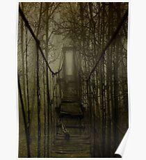 scary bridge Poster