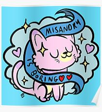 Misandry is Boring Poster