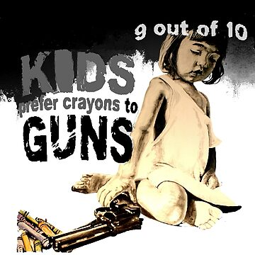 KIDS prefer crayons by ARTito