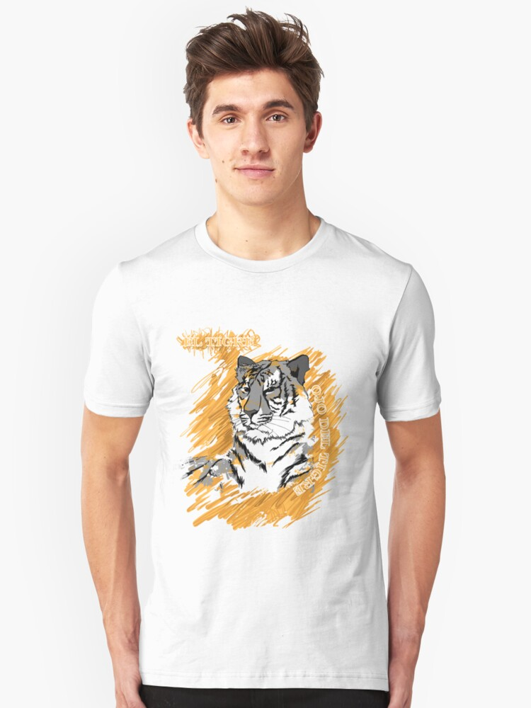 Eye of the Tiger Unisex T-Shirt Front