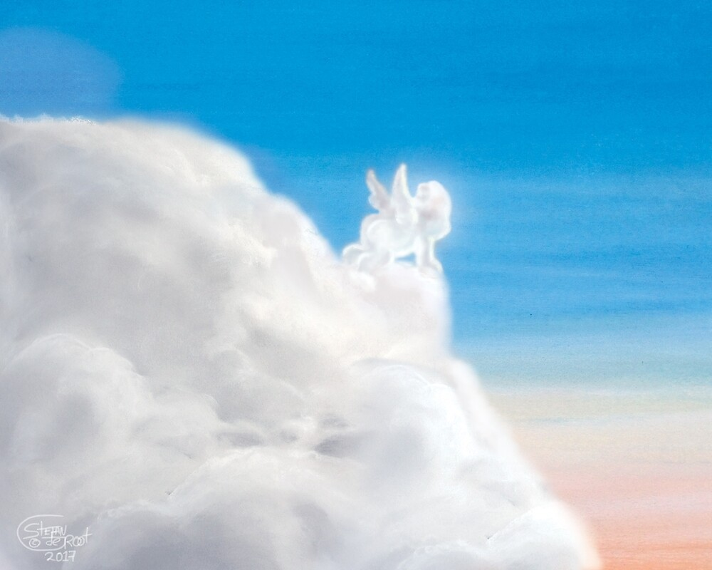 Little Cloud Angel by Stayf