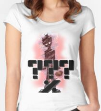 MOB PSYCHO ???% Women's Fitted Scoop T-Shirt