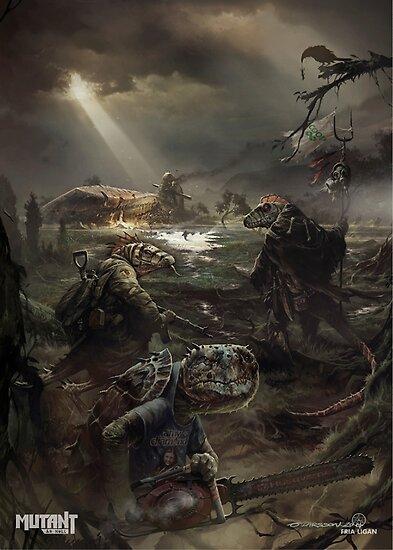 Mutant: År Noll - Poster 10 by Fria Ligan