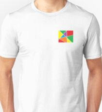 Stained Glass Art (Abstract) Unisex T-Shirt
