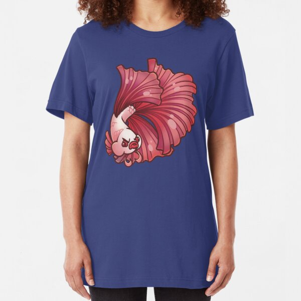 Angry Betta Slim Fit T-Shirt