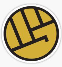 heropunch Sticker