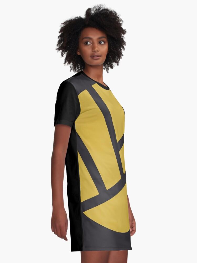Alternate view of heropunch Graphic T-Shirt Dress
