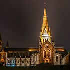 1246 Sacred Heart Cathedral Bendigo by DavidsArt