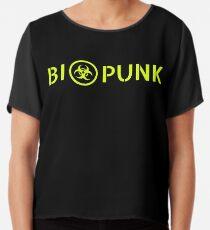 Biopunk Chiffon Top