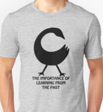 T-Shirt Adinkra Symbol: Learn from the Past Unisex T-Shirt
