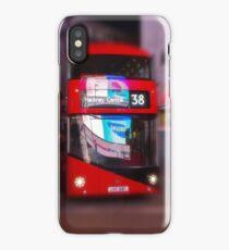Big Red Bus iPhone Case/Skin