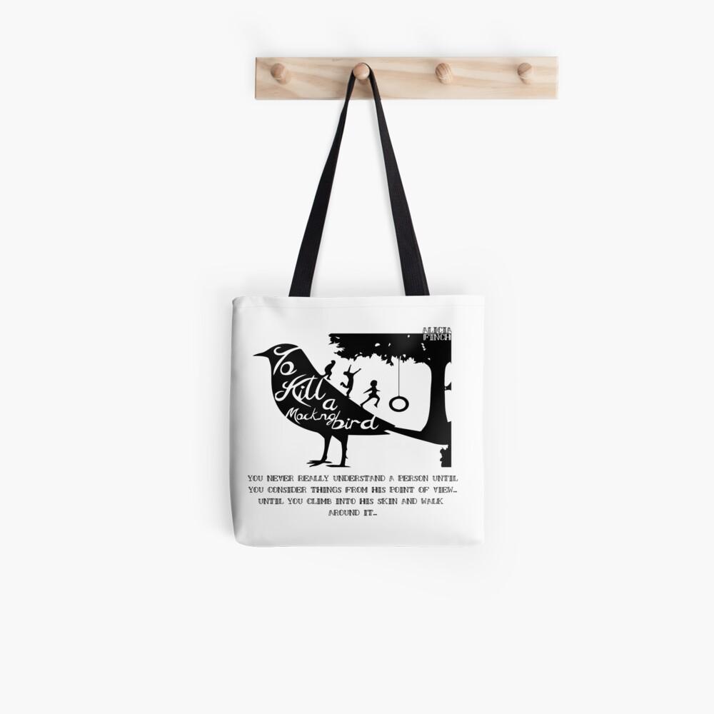 Einen verspottenden Vogel töten Stofftasche