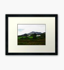Houses in Donegal, Ireland Framed Print