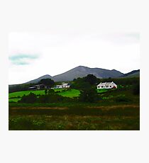 Houses in Donegal, Ireland Photographic Print