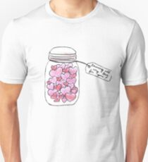 jar of hearts - saving all my love for you Unisex T-Shirt