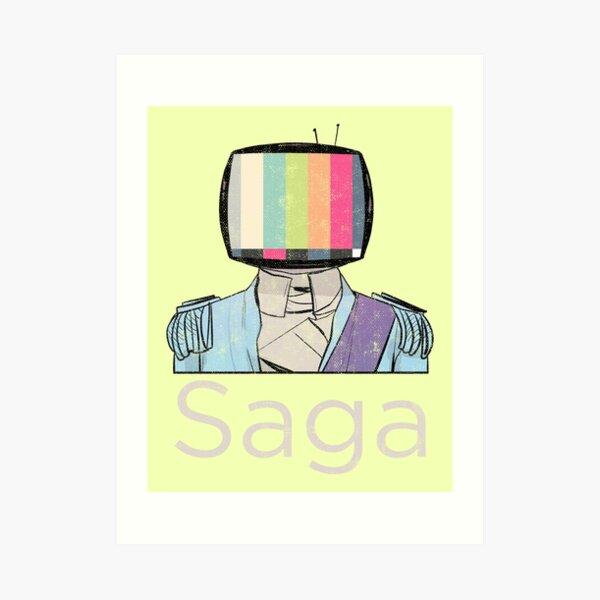 Saga Prince Art Print