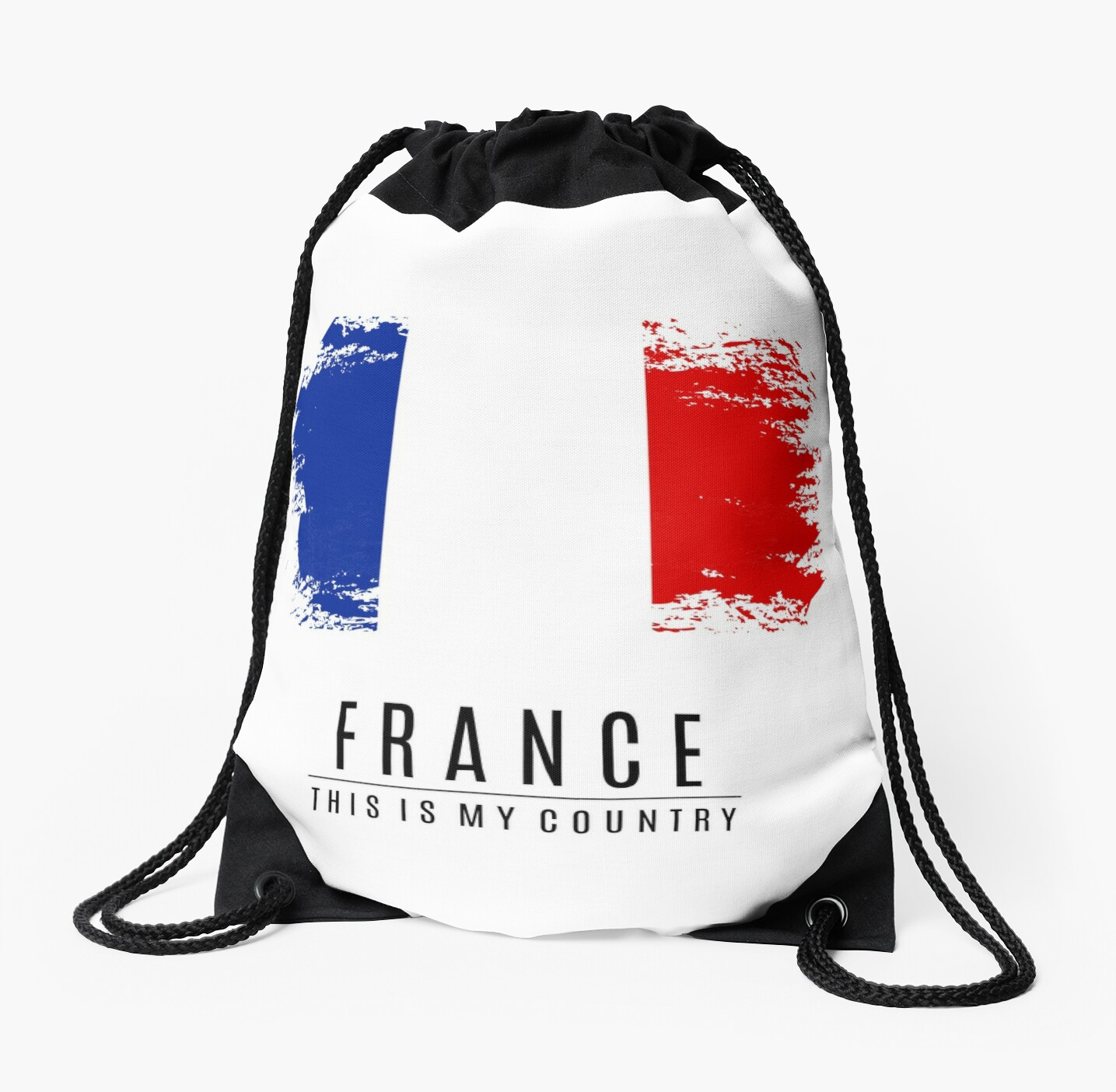 Quot France Quot Drawstring Bags By Capp6 Redbubble