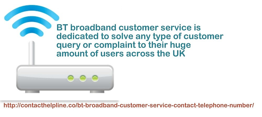 BT Broadband Customer Service-Fast and Effective by Robertcarters