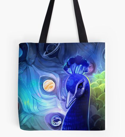 the peacock way Tote Bag