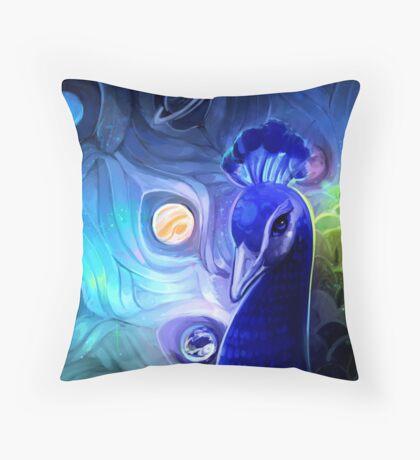 the peacock way Throw Pillow