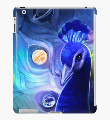 the peacock way iPad Case/Skin