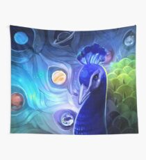 the peacock way Wall Tapestry