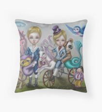 Surreal Playpark II Throw Pillow