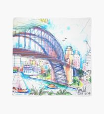 Sydney Harbour Bridge and boats Scarf