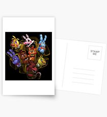 Five Nights at Freddy's 2 Postcards