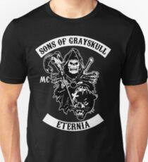 SONNEN VON GRAUSKULL !! (SCHWARZ) Slim Fit T-Shirt