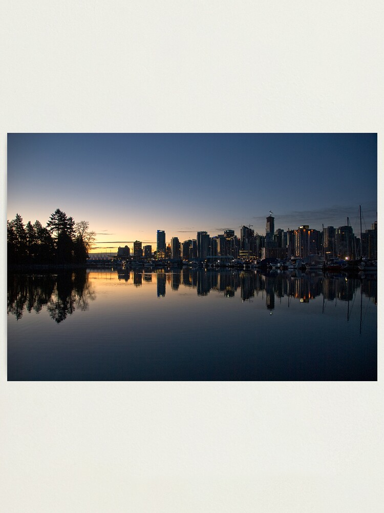 Alternate view of  Vancouver, BC  Morning Photographic Print