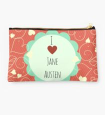 I Love Jane Austen Studio Pouch