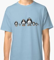 Cute Penguin Famiy Classic T-Shirt