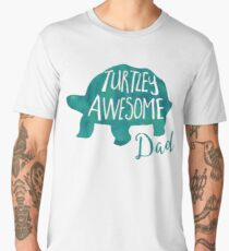 TURTLEy awesome dad! Men's Premium T-Shirt